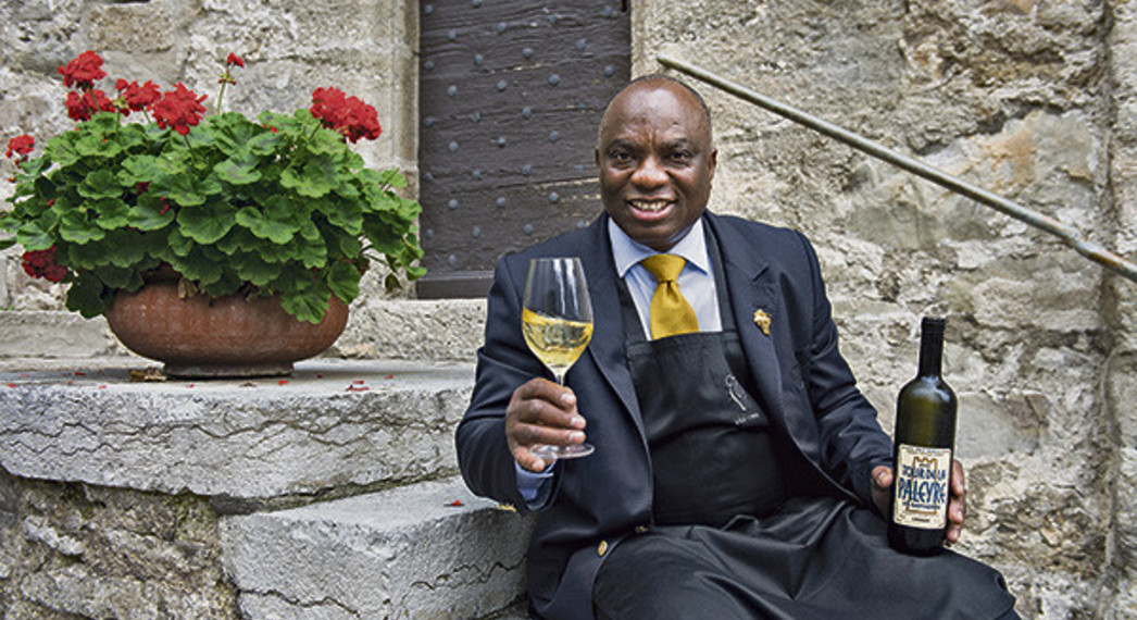 Jérôme Aké Béda: en attendant la consécration du grand maître du vin.