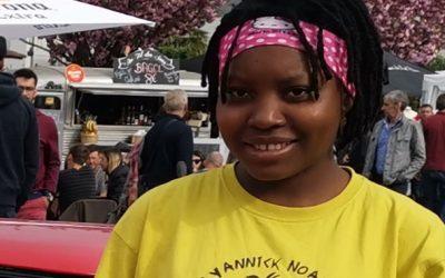 Tonyedji, une jeune Africaine au lycée en Haute-Savoie