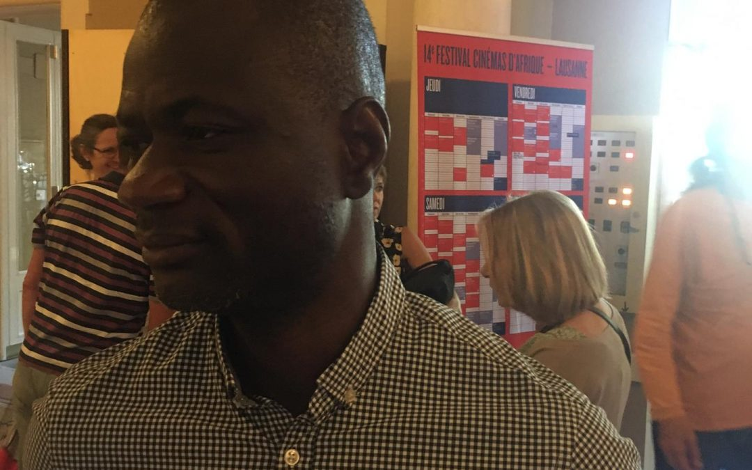 Alex Moussa Sawadogo: attaché artistique au 14ème festival africain du film de Lausanne.
